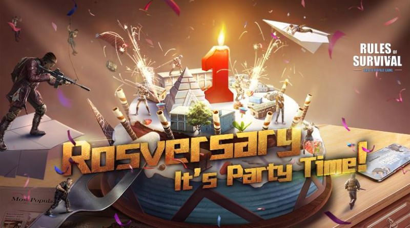 rules of survival 1 year anniversary