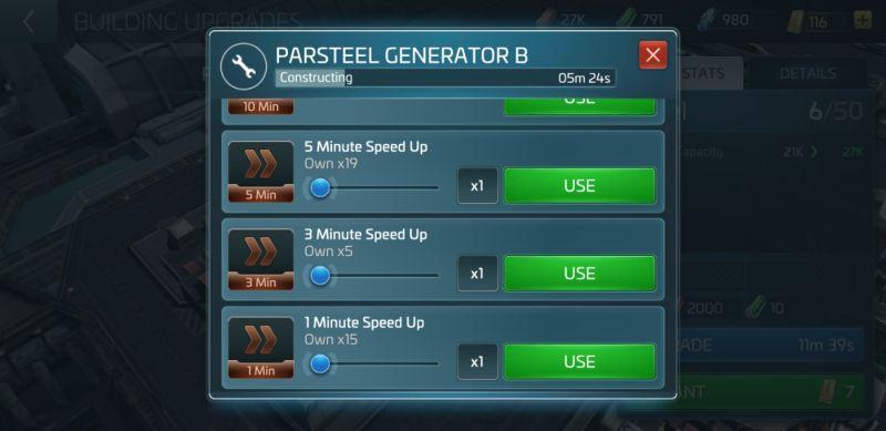 star trek fleet command speed ups