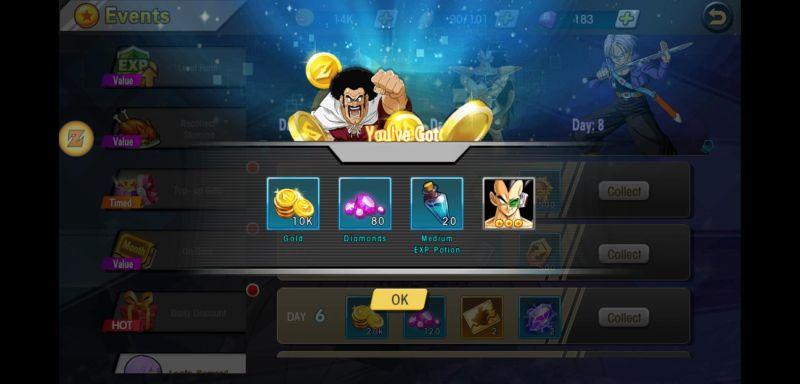 universal fighter super rewards