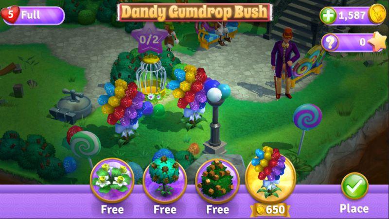 wonka's world of candy decorations