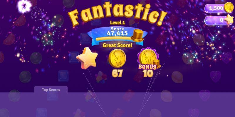 wonka's world of candy high score