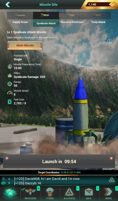 world war rising missile silo