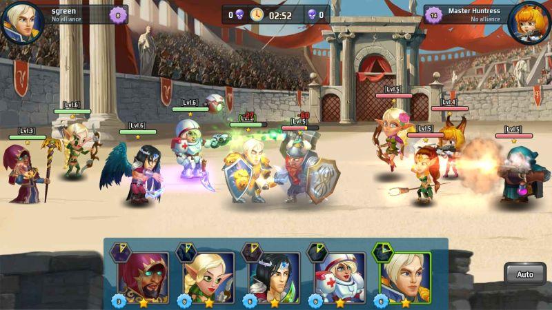 battle arena heroes adventure arena