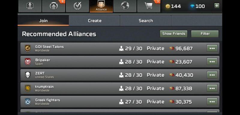 command & conquer rivals alliance