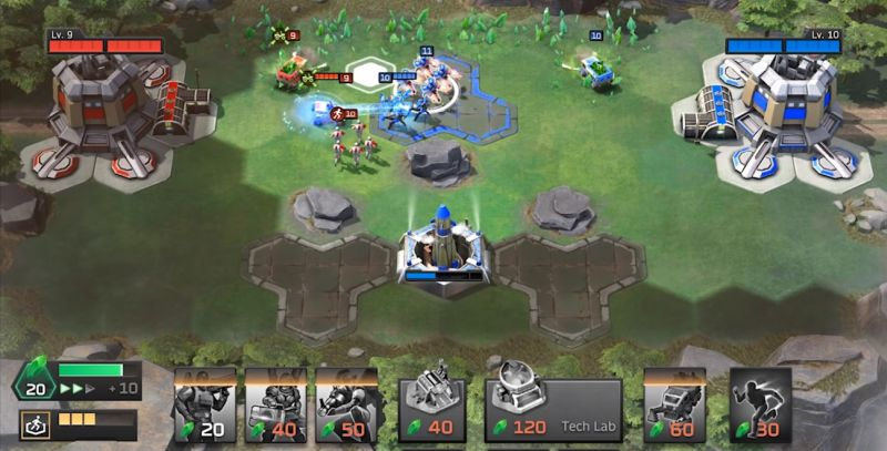 command & conquer rivals micromanagement