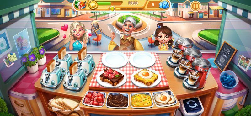 food orders cooking city