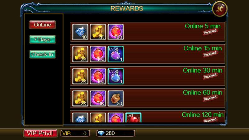 dragon of throne rewards