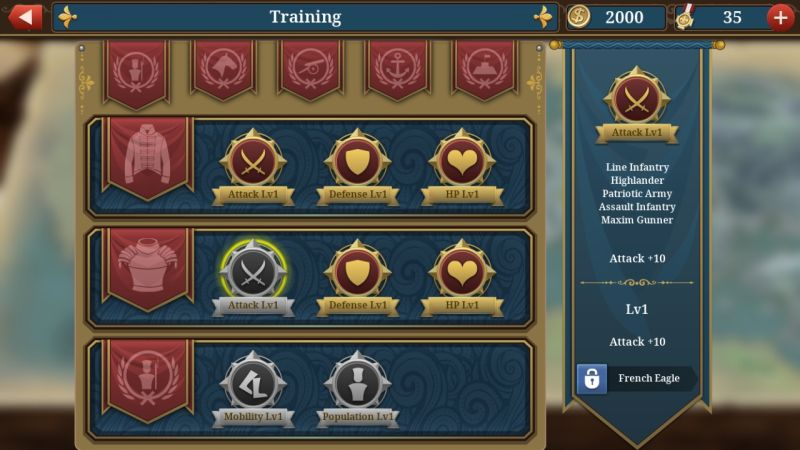 european war 6: 1804 training