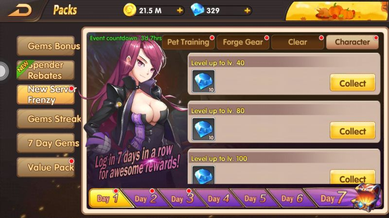fantasy heroes demon rising events