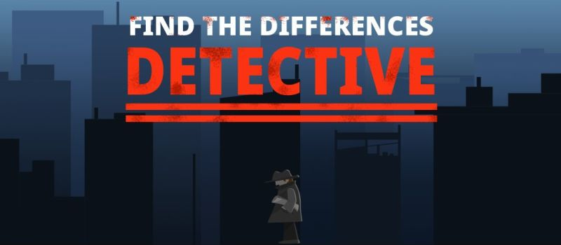 find differences detective guide