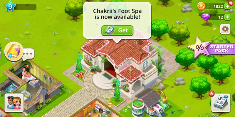 my beauty spa stars & stories cheats