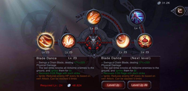 overlords of oblivion skills
