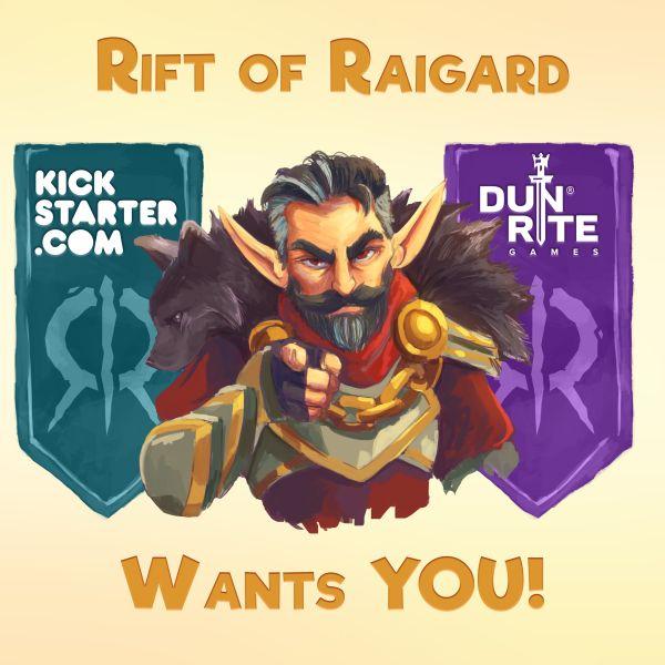 rift of raigard kickstarter campaign