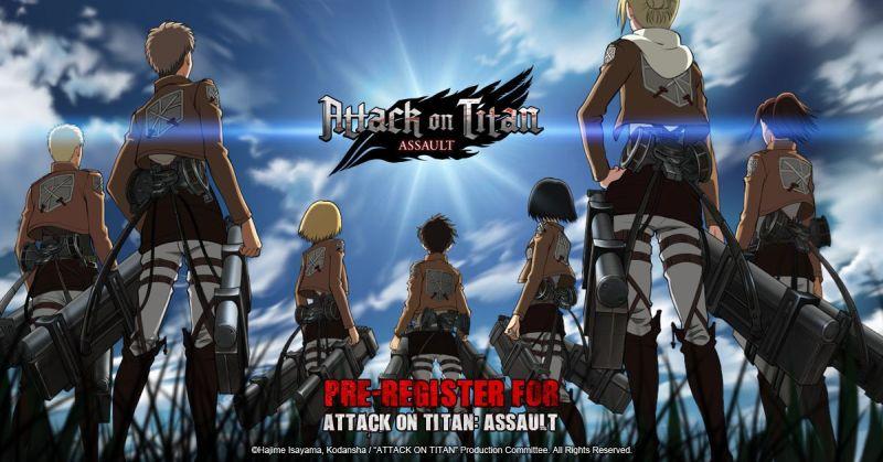 attack on titan assault pre-registration