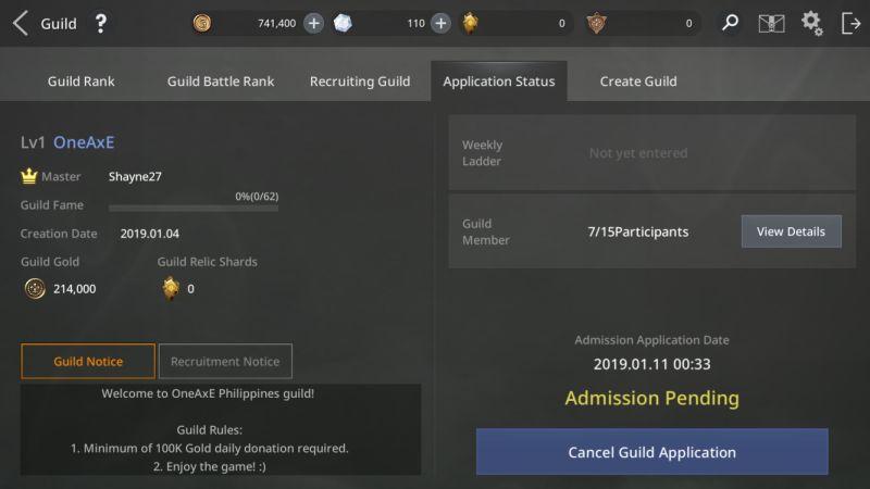 axe alliance vs empire guild