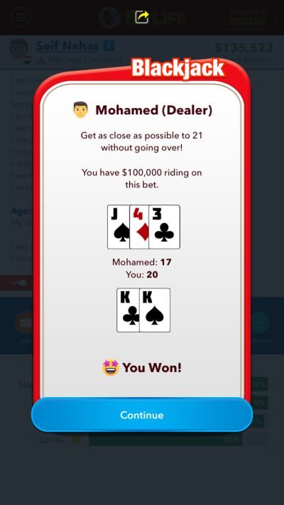 how to cheat in the casino in bitlife