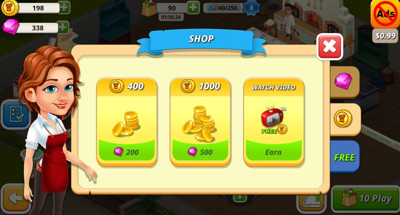 cafe tycoon shop