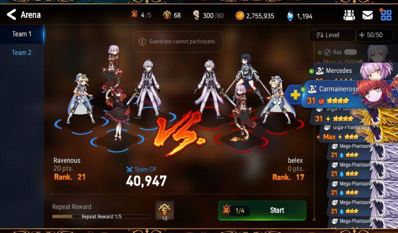 epic seven character classes