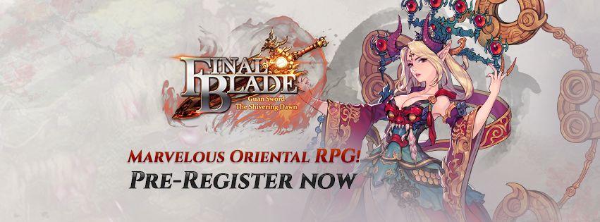 final blade pre-registration