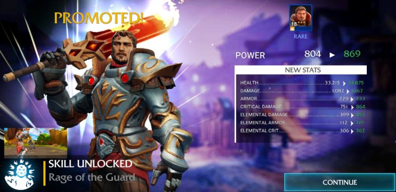 forged fantasy upgrades
