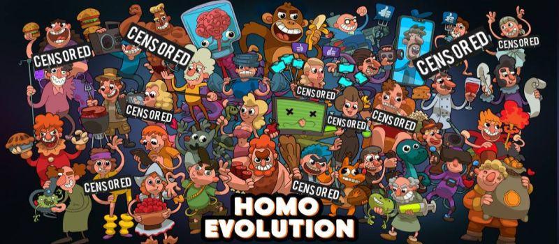 homo evolution cheats