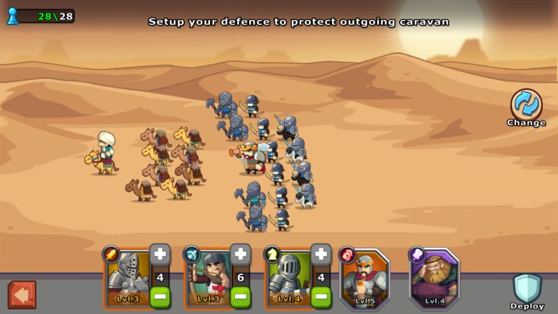 knights and glory defensive strategies