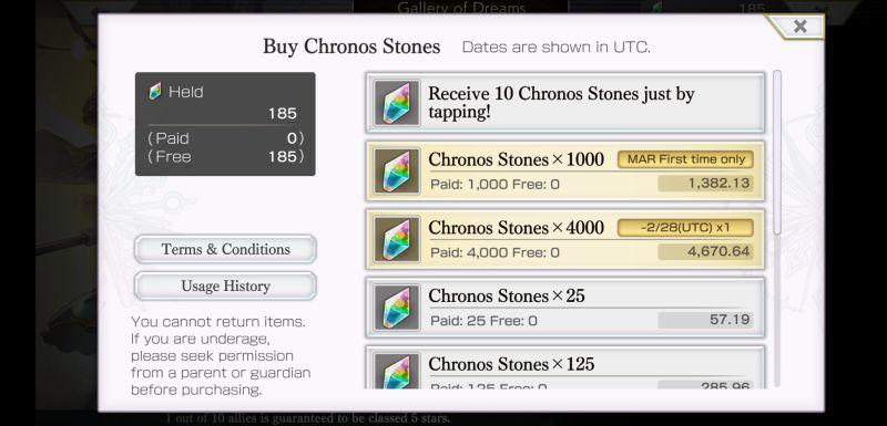 another eden chrono stones