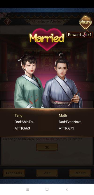 emperor and beauties marriage