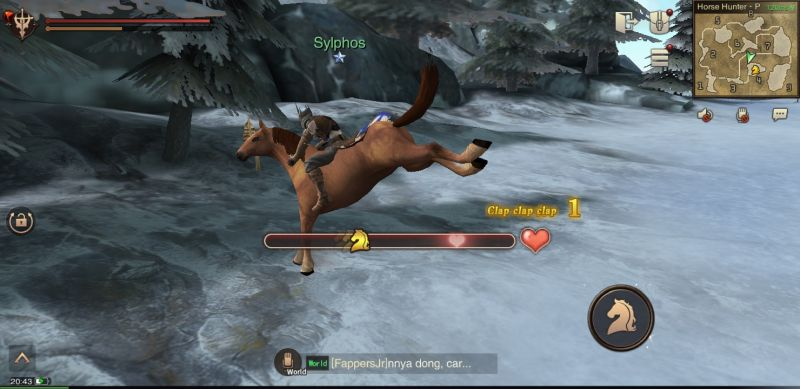 errant hunter's soul horse hunting and breeding