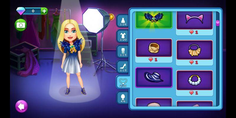 fabulous angela's true colors dress up