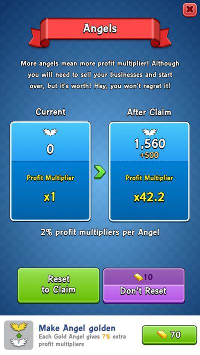 idle capitalist angels