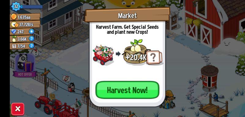 idle farming empire crops