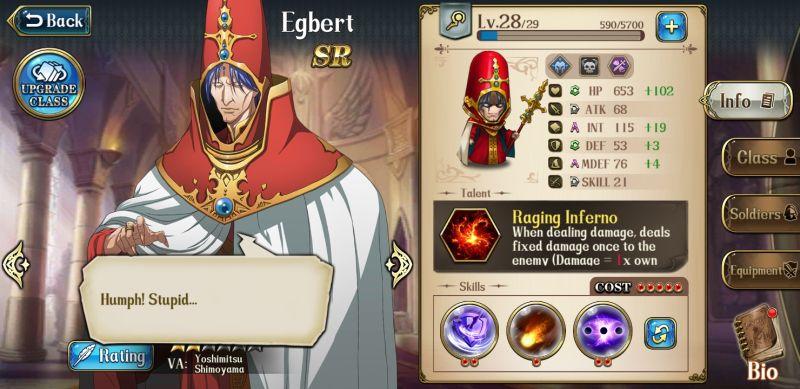 langrisser mobile best sr heroes egbert