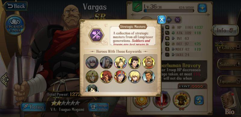langrisser mobile strategic masters