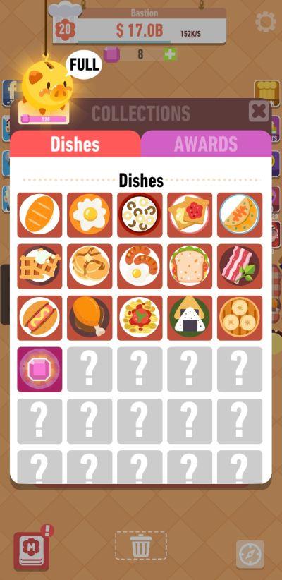 merge food dishes