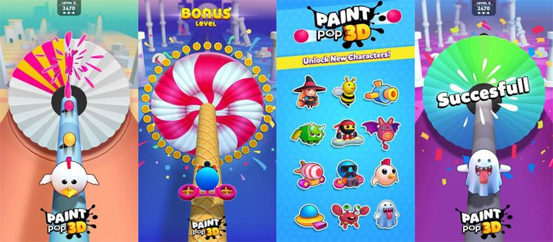 paint pop 3d cheats