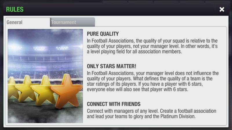 top eleven 2019 rules