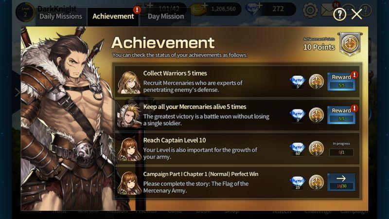brown dust achievement