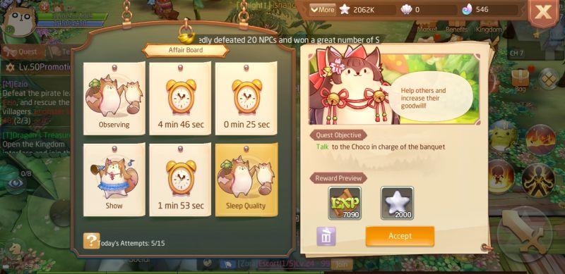laplace m affair board quests