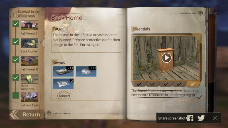 lifeafter walkthrough chapter 1 back home