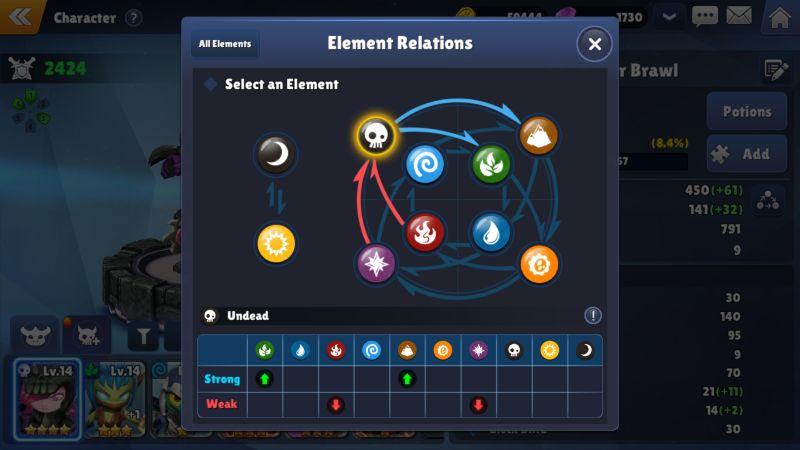 skylanders ring of heroes elements