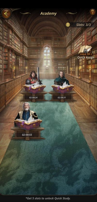 the royal affairs academy