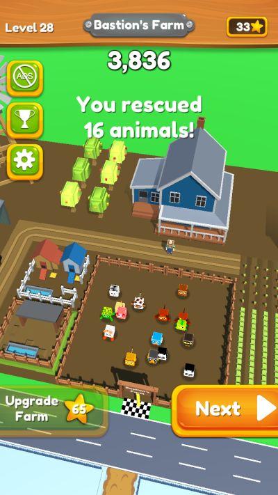 animal rescue 3d high score