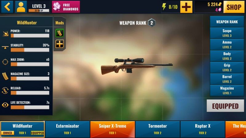 best sniper legacy weapons