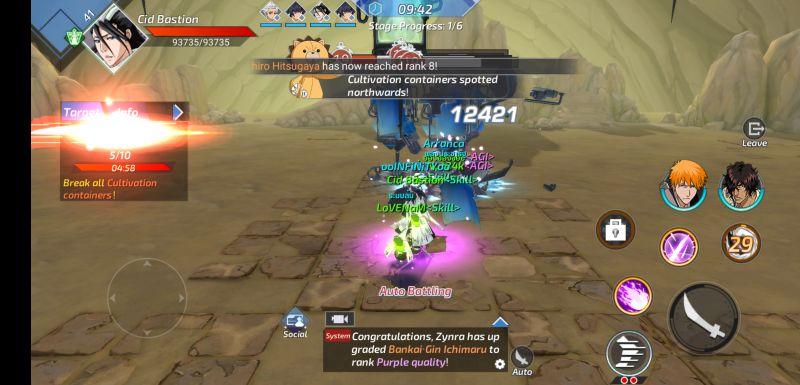 bleach mobile 3d dungeon mode