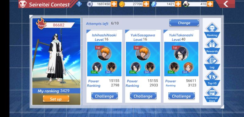 bleach mobile 3d gameplay mode
