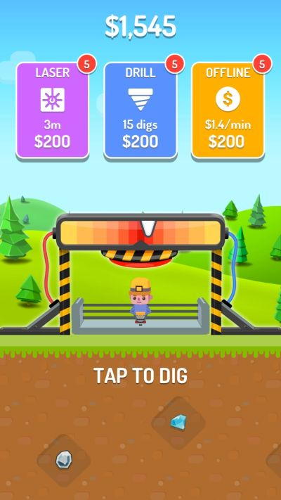 dig master earnings