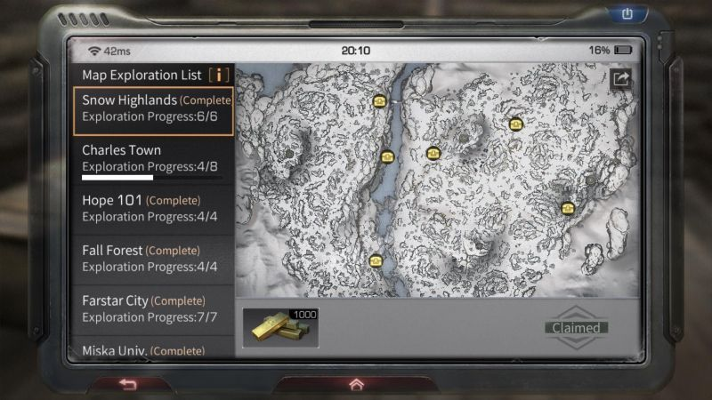 lifeafter snow highlands chest locations