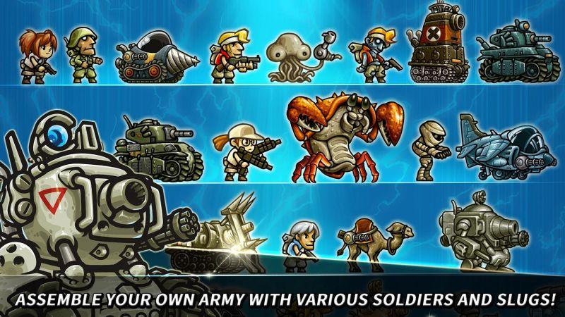 metal slug infinity best army