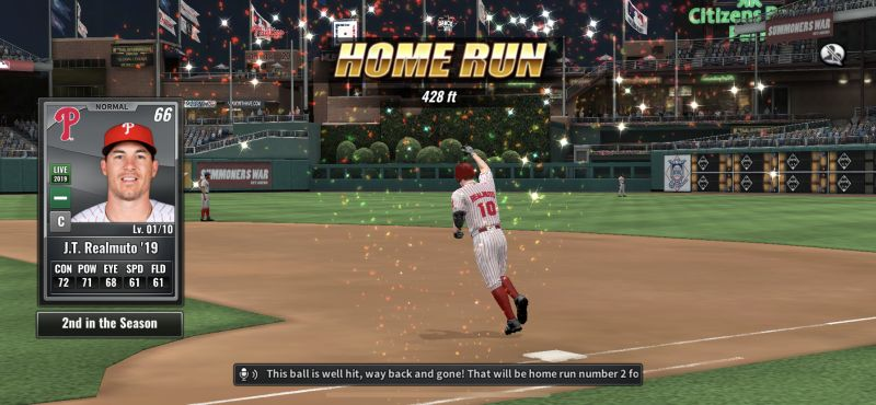 mlb 9 innings 19 home run